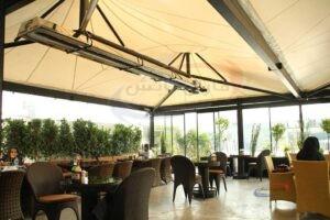 سیستم های گرمایش تابشی رستوران ها و فضای باز فاران تابش