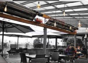 سیستم های گرمایش تابشی رستوران ها و فضای باز