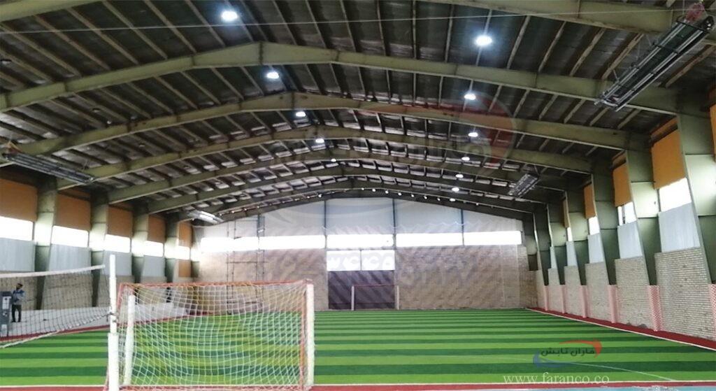 سیستم های گرمایش تابشی سالن های ورزشی
