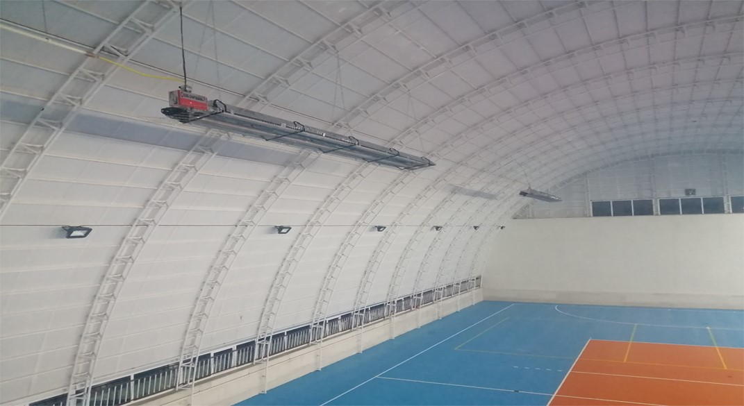 مزایای استفاده از سیستم های گرمایش تابشی سالن های ورزشی